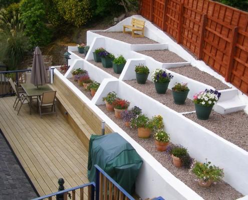 Springtide rear terrace